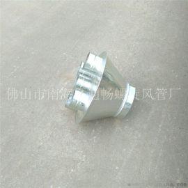 广东车间通风管道安装专业加工生产白铁螺旋风管价格