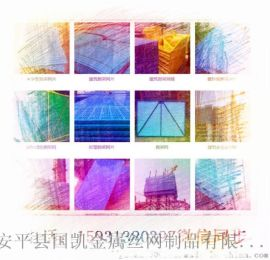 建築外牆兩廣噴塑爬架網片    圓孔噴塑爬架網片     爬架網片