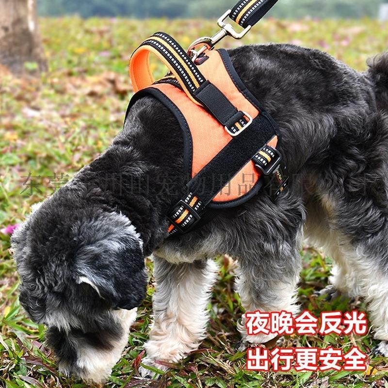 寵物用品廠家直銷 中大型犬防爆衝牛津布K9胸背 狗狗牽引繩批發