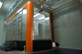 广东喷粉房生产厂家专业静电喷涂流水线定做