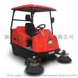 甘肃小区工厂用驾驶式清扫车 伟顿电动扫地车