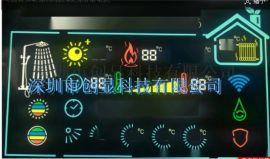 LCD液晶显示屏 太阳能取暖器显示屏