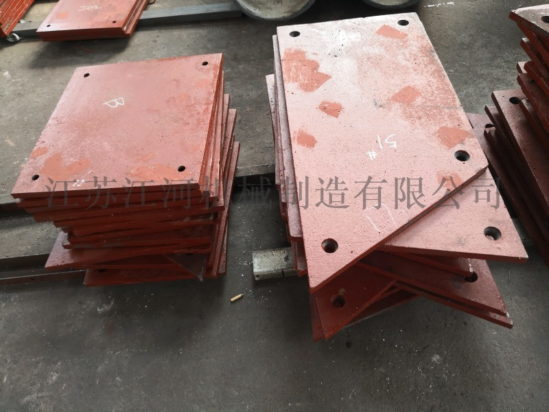 浙江无螺栓衬板 合金耐磨衬板 江苏江河机械