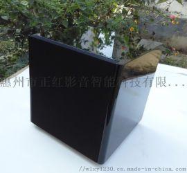 6寸黑色钢琴烤漆低音炮