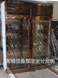 不锈钢恒温酒柜 酒窖不锈钢恒温常温红酒架定制