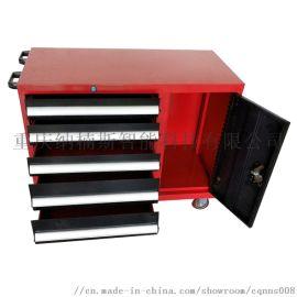 7抽屉储物柜带轮 工具小车 加厚铁皮工具箱工具车