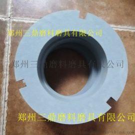 陶瓷绿碳化硅带槽修整环陶瓷金刚石研磨盘开刃修正砂轮