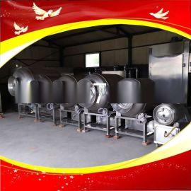 大型食品厂专用真空滚揉机牛排鸡排快速腌制设备