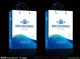 手提袋定做印刷 厂家定做白卡服装手提 虎门纸袋 黄牛皮手提袋