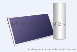 阳台壁挂型太阳能平板集热器800*2400蓝膜激光整板管板式工程机