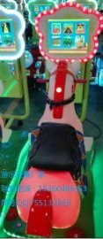 儿童投币3D骑马小马摇摆车