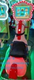 兒童投幣3D騎馬小馬搖擺車