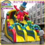 充氣水池新款大象頭滑梯組合 兒童樂園 動漫水世界滑梯水池遊樂