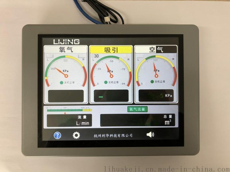 三氣液晶屏醫用氣體壓力報警器 新品