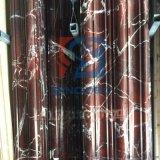 现货紫罗红门套天然大理石线条门套窗套背景墙套石材红色门套线条
