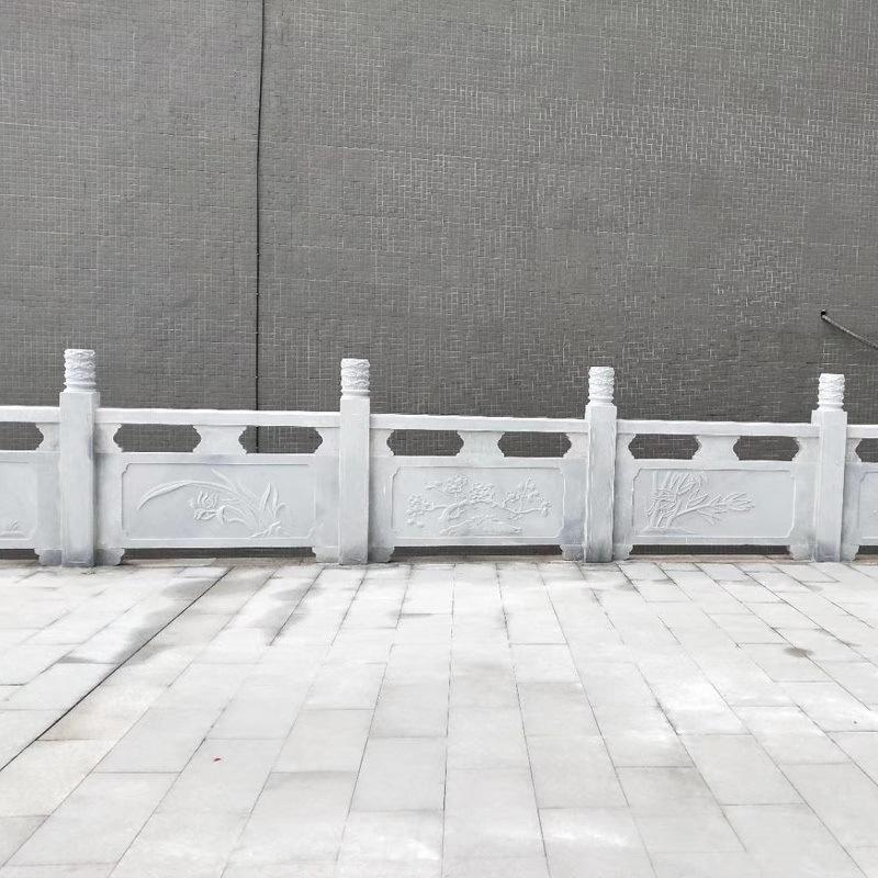 石雕栏杆厂家-石雕栏杆制作-石雕栏板图片