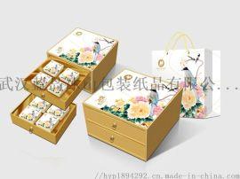 湖北包裝設計策劃茶葉禮盒年貨禮盒包裝生產