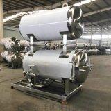 双层热水循环蒸汽加热电加热不锈钢菌种杀菌锅