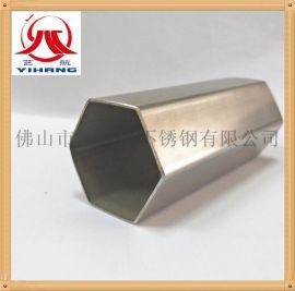 佛山厂家直销304不锈钢六角管不锈钢异型管规格齐全