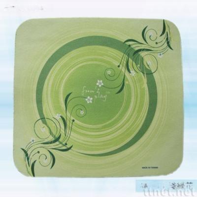 浅绿花滑鼠垫(AW-013)