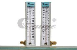 工業用6 1/2長玻璃溫度計