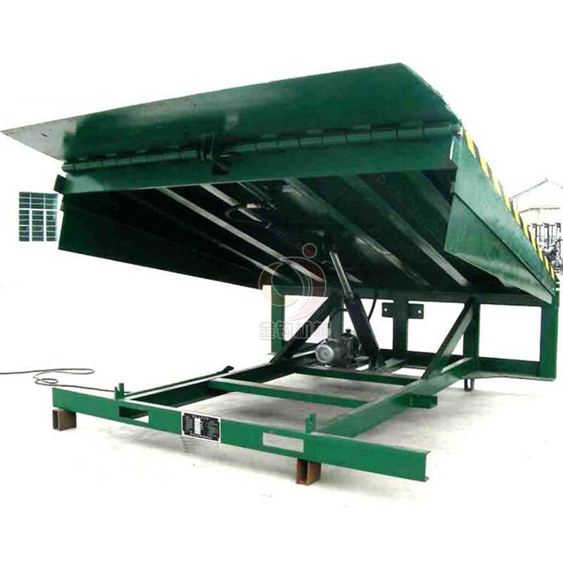 固定式液壓登車橋物流專用電動叉車過橋物流碼頭卸貨平臺6/8/10噸