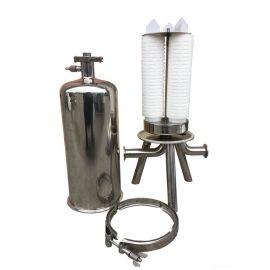 发酵生啤过滤 304不锈钢过滤设备 微孔膜过滤器