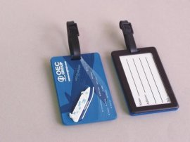 PVC行李吊牌 旅行牌 标签牌