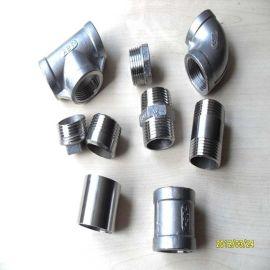 不锈钢铸造件304丝口接头同心内外牙接头六角皮管接变径内外弯头