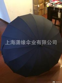 16骨直杆伞,高密度防水伞面,晴雨两用