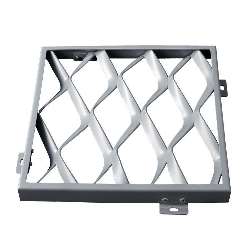 廠家直銷衝孔鋁單板鋁網天花菱型鋁網格三角鋁網板