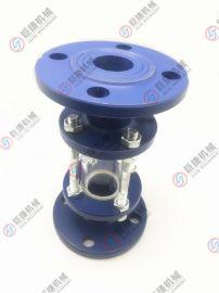 高品质碳钢法兰视盅 玻璃管直通视镜 法兰直通视镜 DN25-DN100