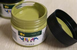 高级灰水粉颜料—国美绿色