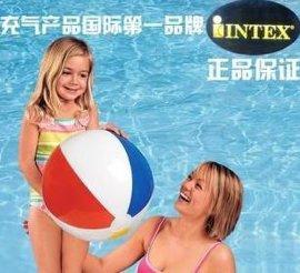 四色沙滩球