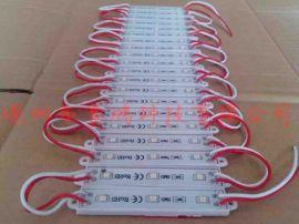 3528三灯防水贴片模组,LED发光字模组,红黄蓝绿白光模组
