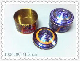 供应蒙古土特产铁盒生产,蒙古特色糖果铁盒包装,内蒙古特产黑奶糖铁盒