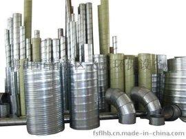 生产销售 矿用风管 高温伸缩风管 304不锈钢螺旋风管 螺旋排风管