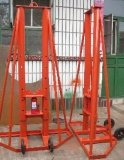 10吨大型液压电缆放线架,开放式电力放线架,机械式电缆放线支架