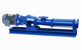 现货**无堵塞螺杆泵,G型单螺杆泵,螺杆泵,污泥螺杆泵