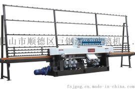 供应立式直线玻璃磨边机 橱柜门玻璃加工设备