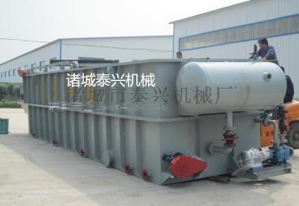 发往福建平流式溶气气浮机生产厂家