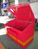 新款中石油加油站消防沙箱2立方消防沙箱