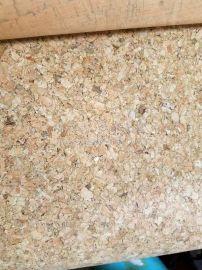 供应环保水松布料 箱包鞋材TC布软木纸批发