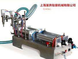 销售液体灌装机**G2WY双头液体卧式气动灌装机 自动灌装机