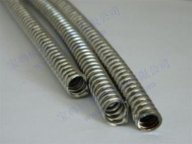 FSS-10单扣不锈钢金属软管,P3型电线保护柔性导线管DN12