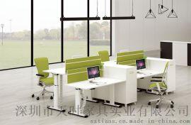 深圳天时家具多功能智能电动升降办公桌