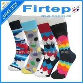 FIRTEP**男女休闲棉袜 hayyp socks 外贸纯棉袜子广州批发