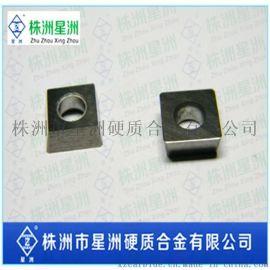 硬质合金数控刀粒 带孔四方形陶瓷刀片 钨钢铣刀 株洲硬质合金厂