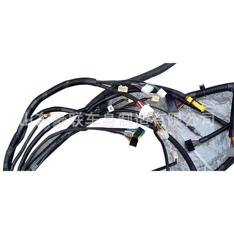 陝汽重卡駕駛室線束 發動機車身 德龍X3000線束總成 價格 圖片