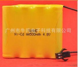 NI-CD  4.8V AA /5号 镍镉玩具/航模/遥控器/便携式设备可充电电池